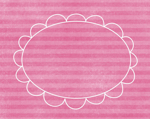 *DFCPPE - Doodle Frame Cards Pink Peonies - 10 card pack