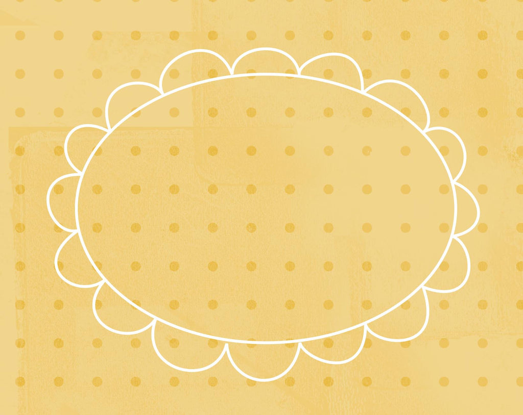 *DFCYD - Doodle Frame Cards Yellow Daisies - 10 card pack