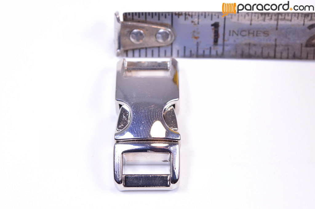 "1/2"" Chrome Metal Buckle"
