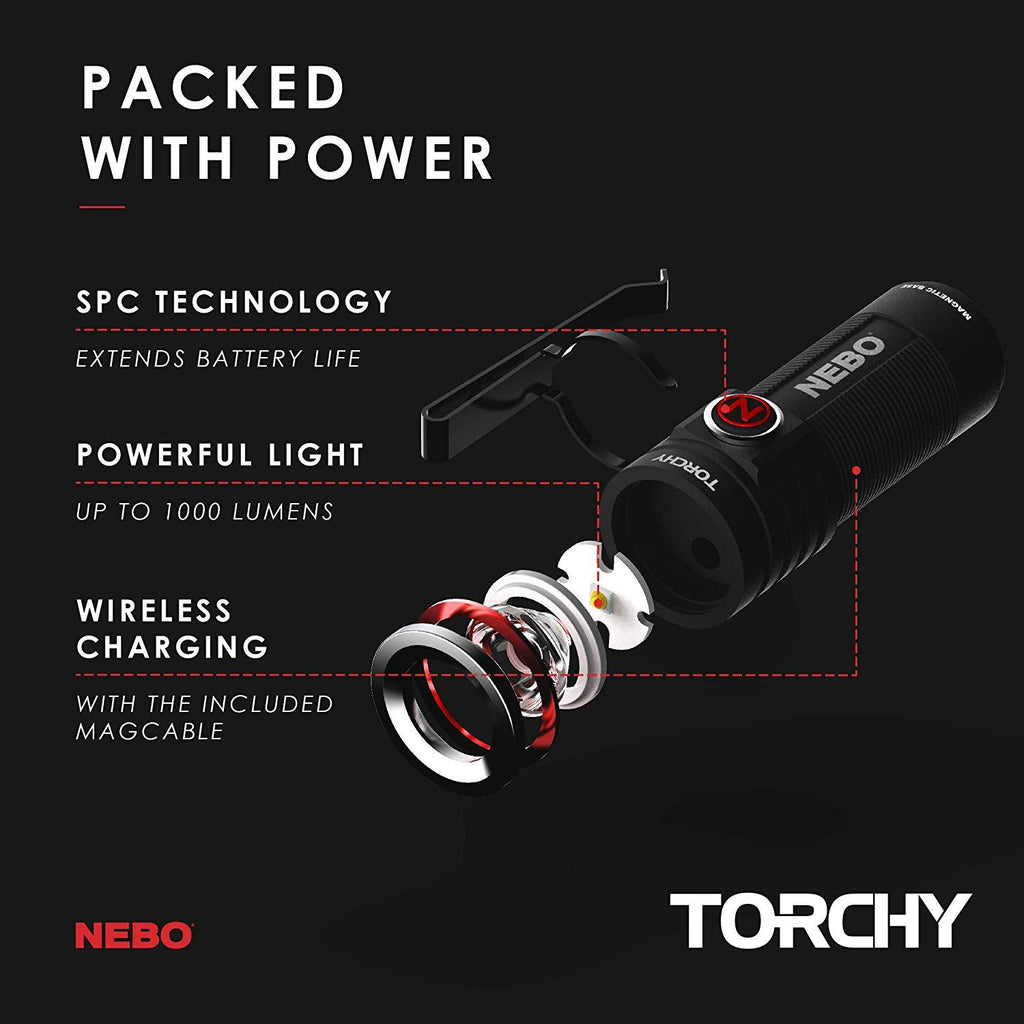 Nebo Torchy - Rechargeable
