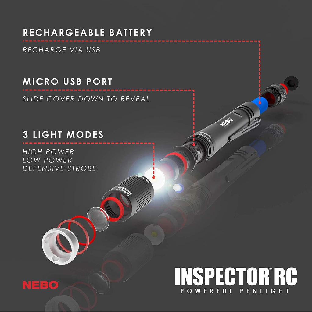 Nebo Inspector Rechargeable
