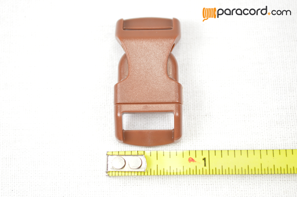 "1/2"" Brown Buckles"