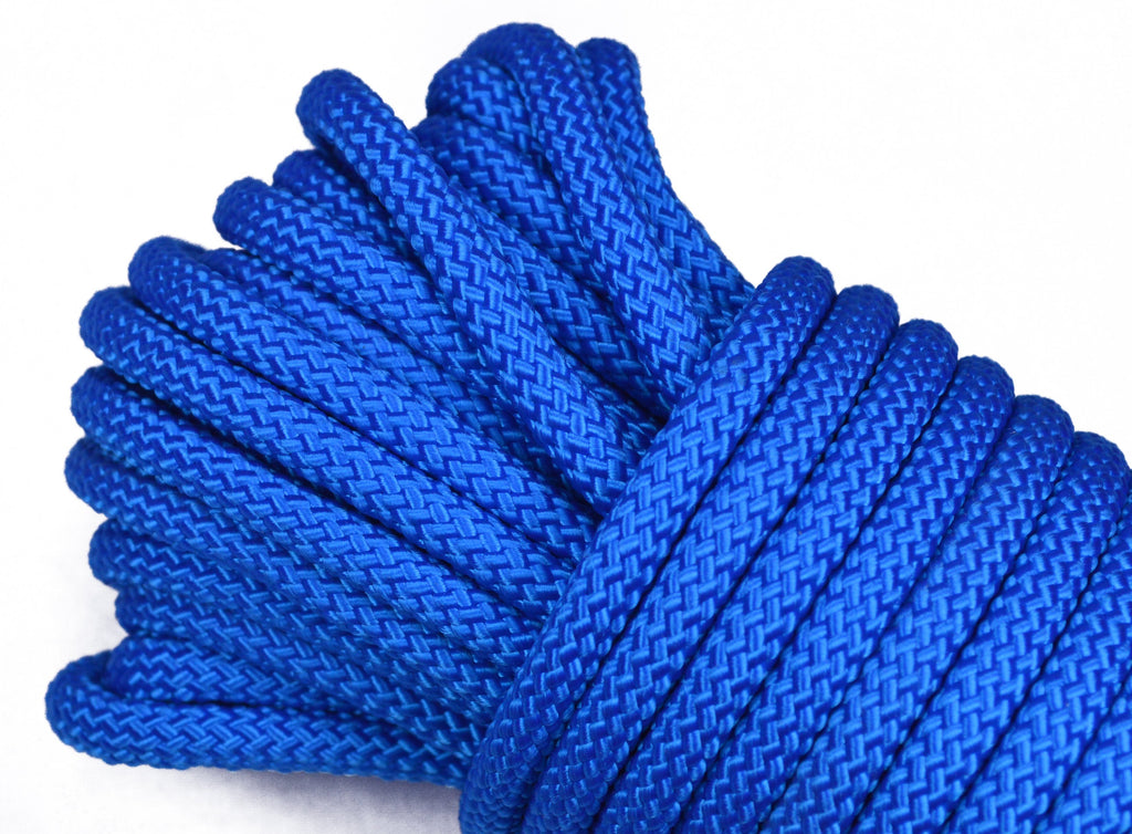 "Caribbean Blue - 1/4"" PolyPro Rope"