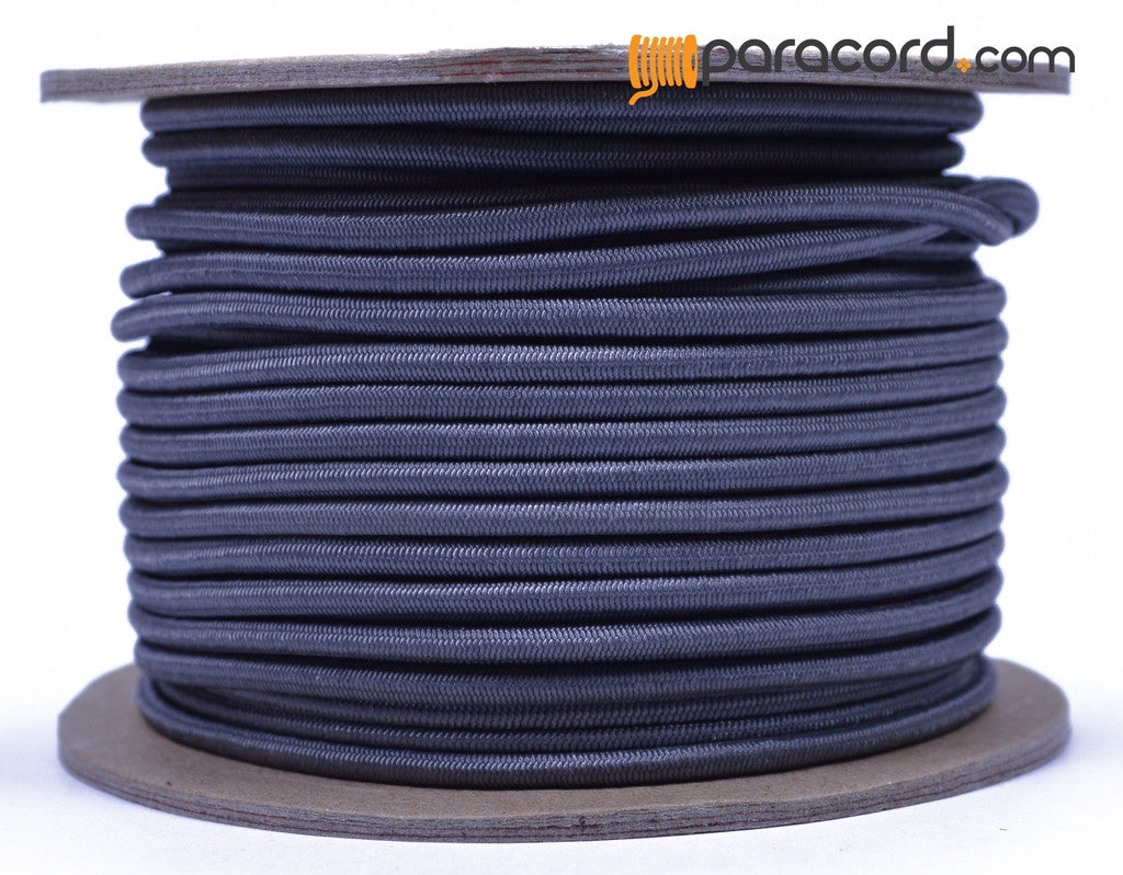 "1/8"" Shock Cord - Charcoal"