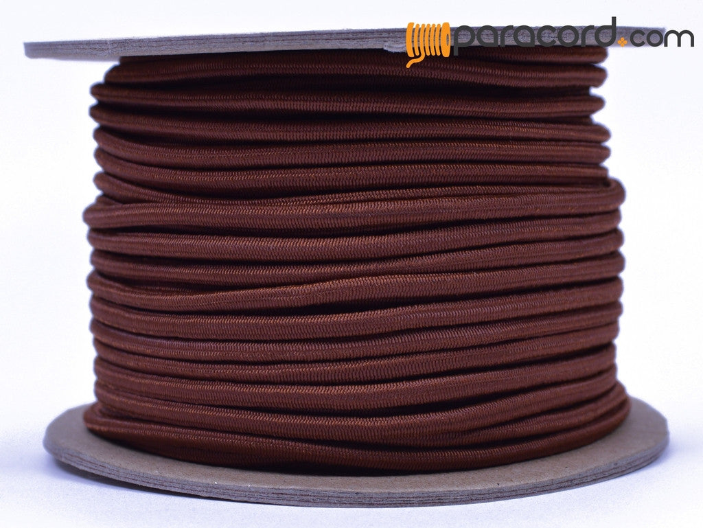 "1/8"" Shock Cord - Chocolate Brown"