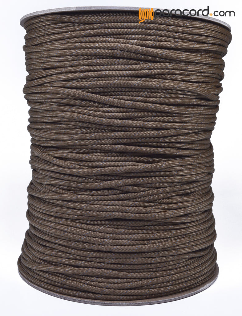 Spool Sale - Reflective - Coyote Brown