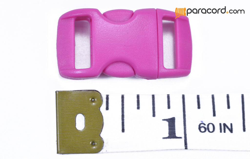 "3/8"" Pink Buckle"