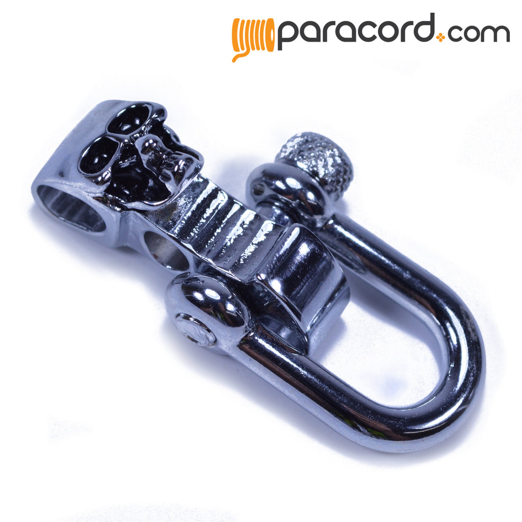 Stainless Steel Skull Adjustable Shackle