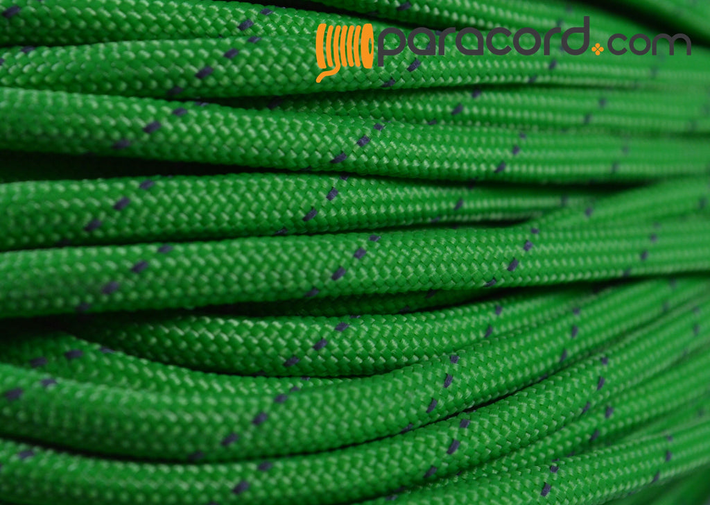 Reflective Tracer Neon Green Paracord