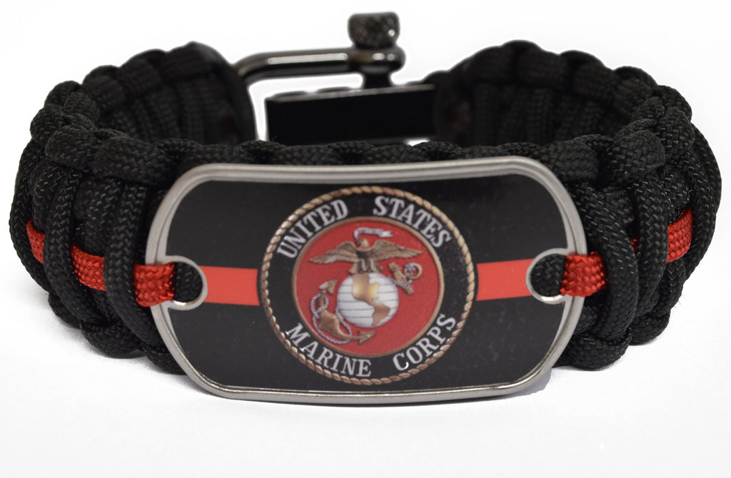Marines Paracord Survival Bracelet