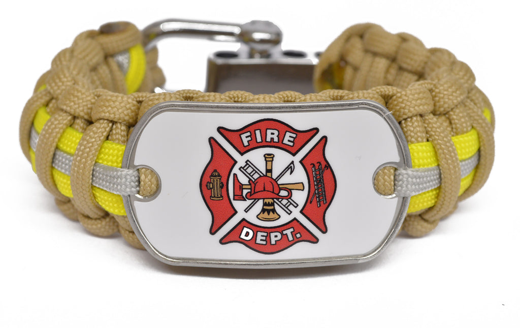 Fire Fighter Paracord Survival Bracelet