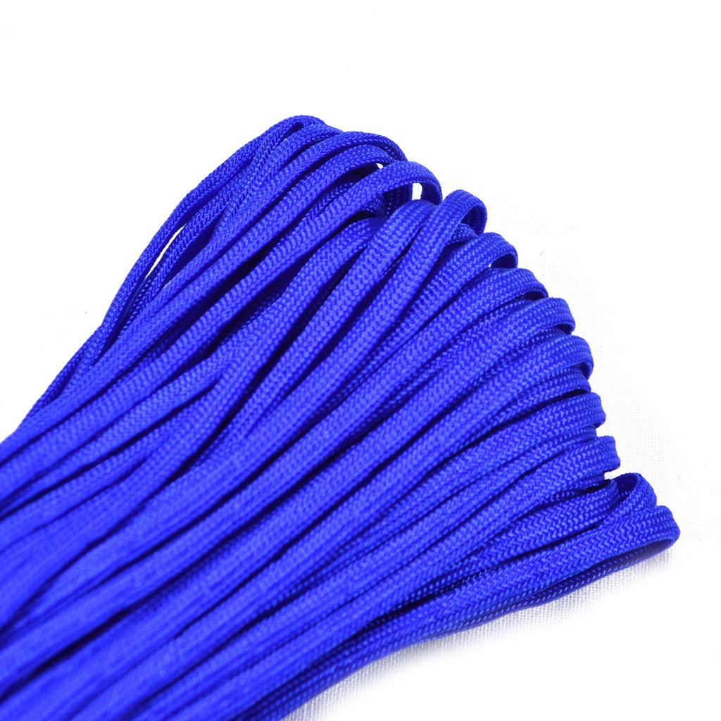 "Electric Blue 3/16"" Whipmaker Coreless Paracord"
