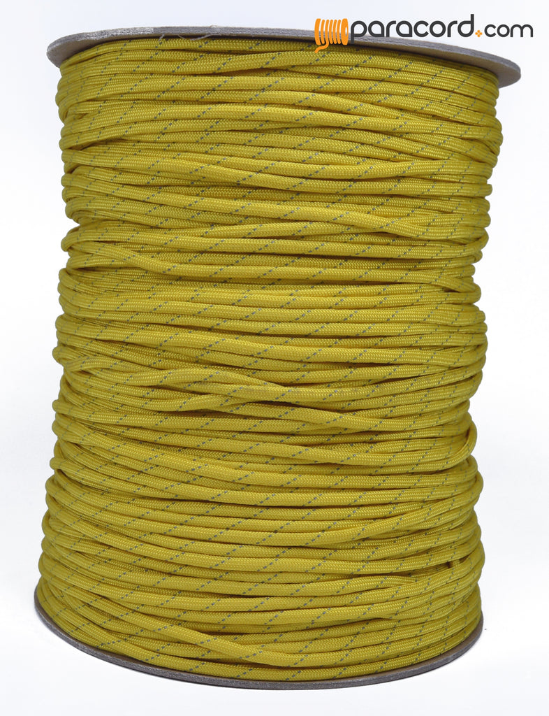 Spool Sale - Reflective - Mustard Yellow
