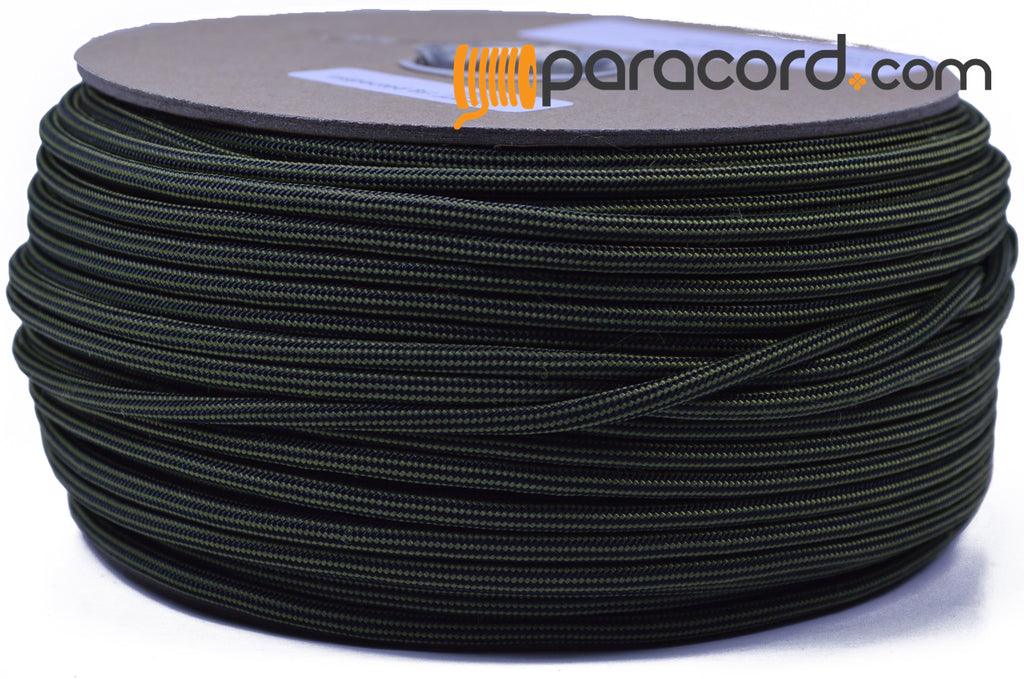 Moss with Black Stripe - 250 Foot Spool