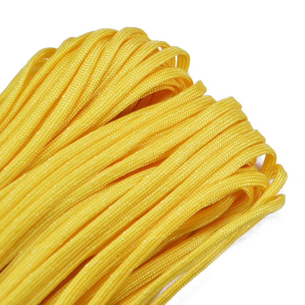 "Mustard 3/16"" Whipmaker Coreless Paracord"