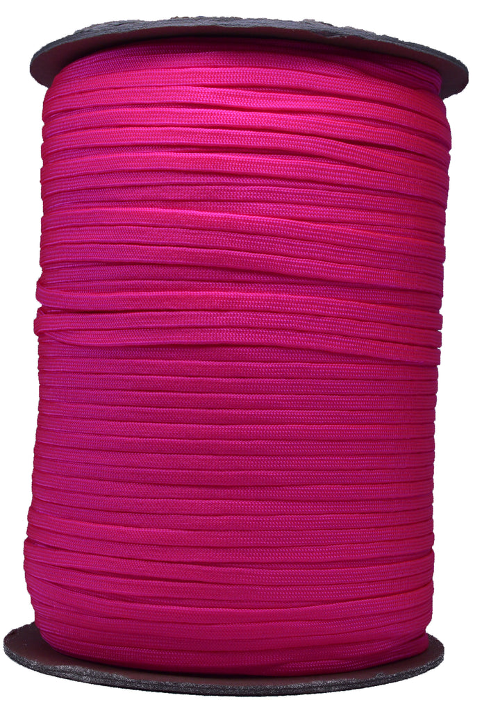 Neon Pink - Coreless 550 - Spool
