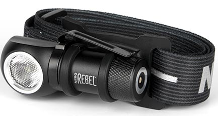 Nebo Rebel Rechargeable Head Lamp
