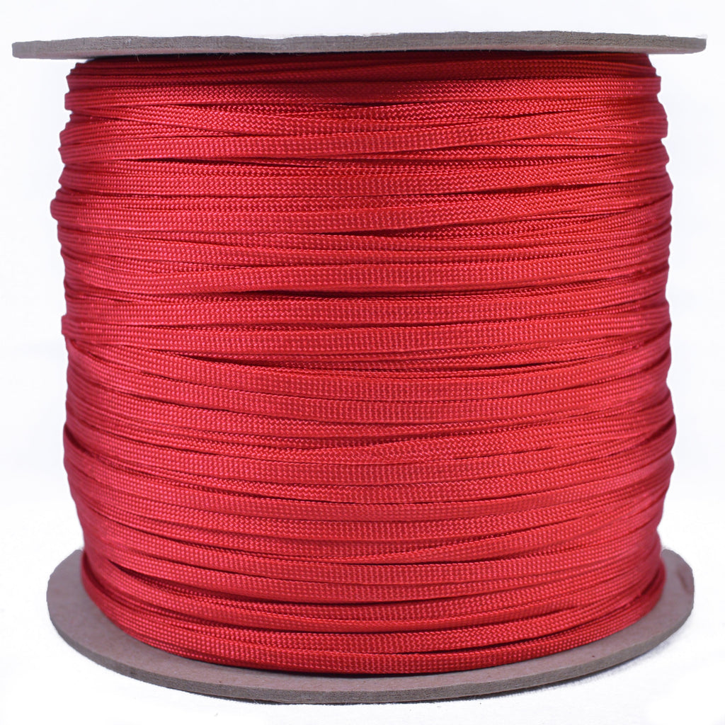 "Red 3/16"" Whipmaker Coreless Paracord"