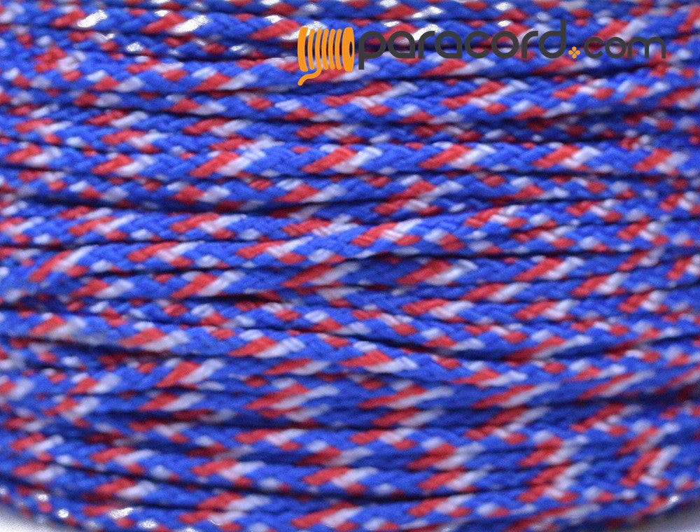 Micro Cord - Red White Blue Camo