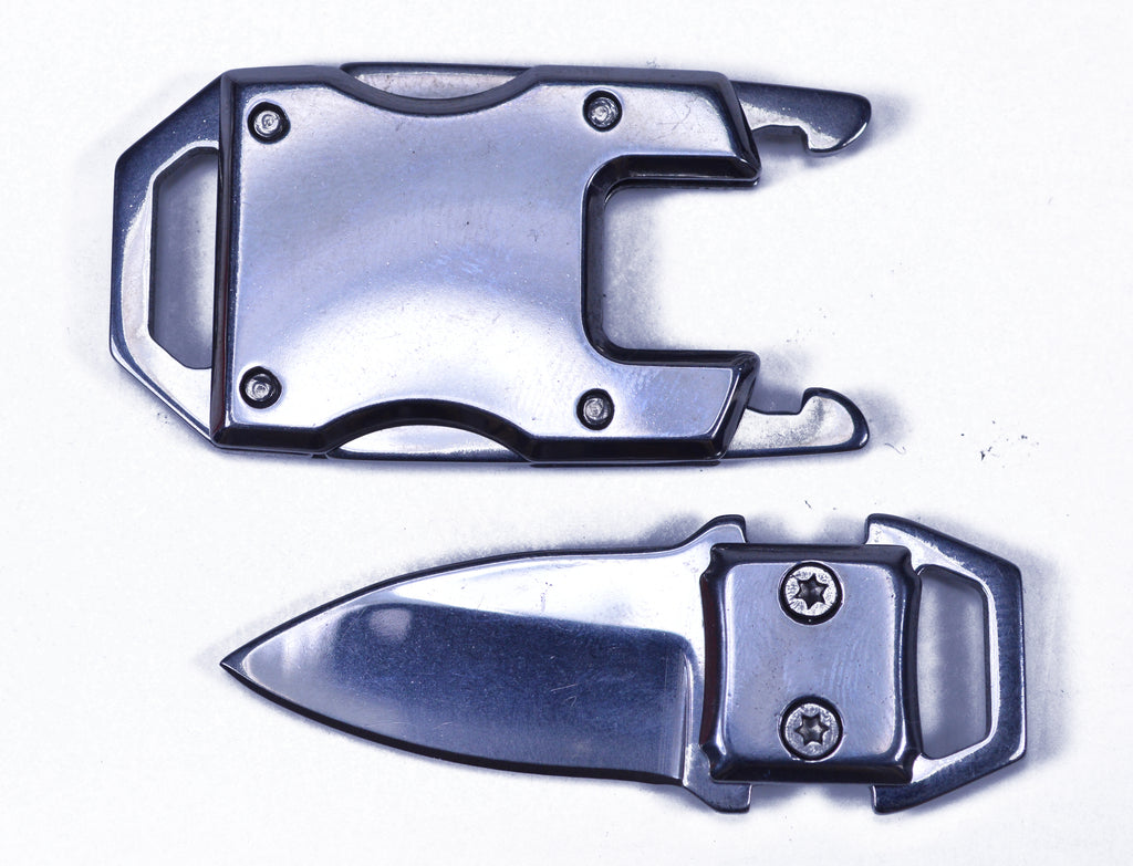 Silver Knife Buckle
