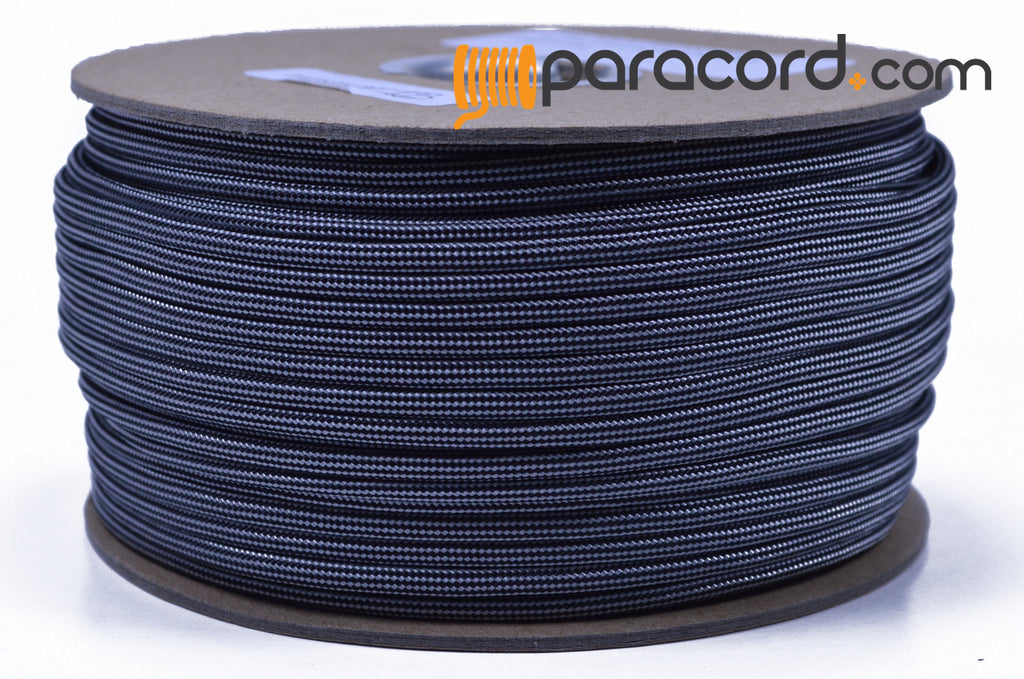 Silver with Black Stripes - 250 Foot Spool