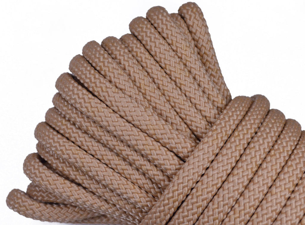 "Tan - 1/4"" PolyPro Rope"