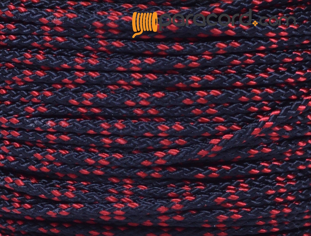 Micro Cord - Thin Red Line