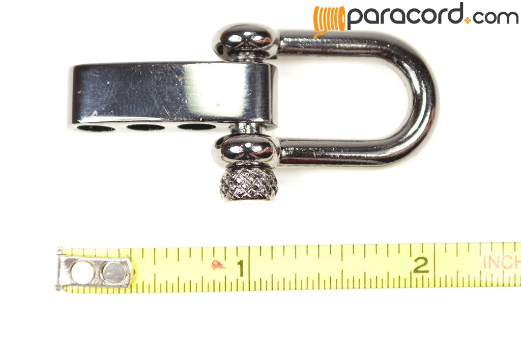 Gun Metal Adjustable Shackle