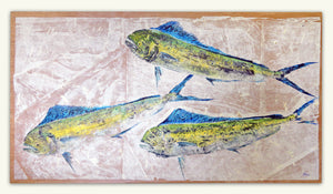 New Fish Art - Mahi Mahi