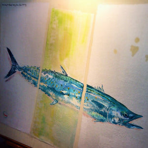 New Fish Art - King Mackerel