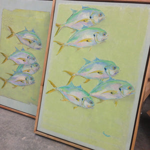 New Fish Art - Jack Crevalle