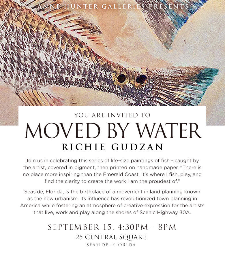 New Gallery Opening 9/15 - Seaside FL