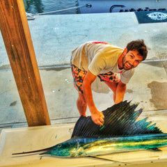 Richie Gudzan - printing sailfish