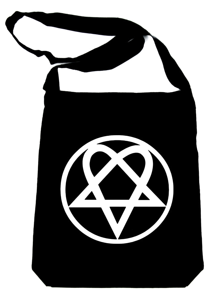 HIM Heartagram Crossbody Sling Bag Ville Valo Goth Rock