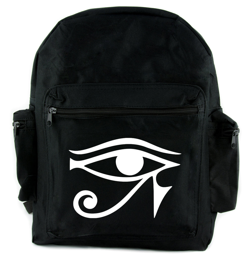 Egyptian Eye of Ra Horus Backpack School Bag Occult