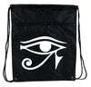 Egyptian Eye of Ra Horus Cinch Bag Drawstring Backpack