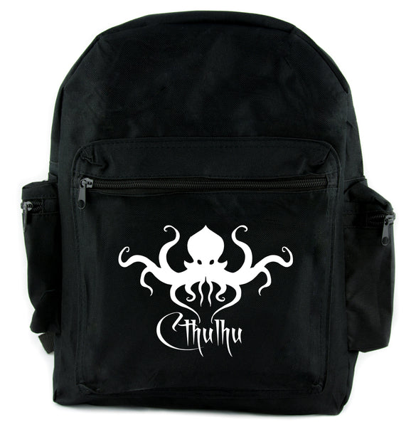 H.P. Lovecraft Cthulhu Octopus Backpack School Bag Occult