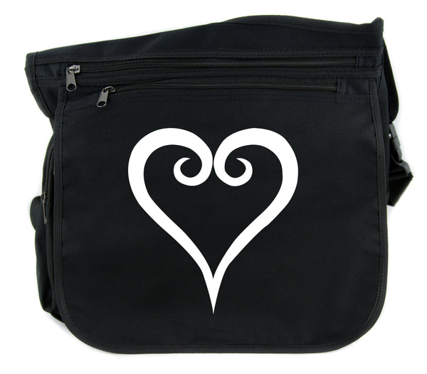 Kingdom Hearts Cross Body Messenger School Bag Anime Gamer Accessories