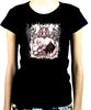 Satanic Baphomet Goat Devil Women's Babydoll Shirt Occult Metal
