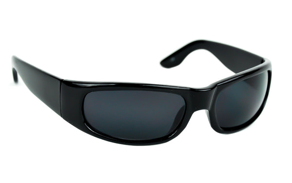 Black Frame Sunglasses Dark Shades Vampire Lens