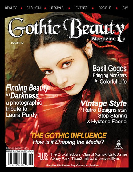 Gothic Beauty Magazine Issue 22 Music interviews with The Cruxshadows, Clan of Xymox,