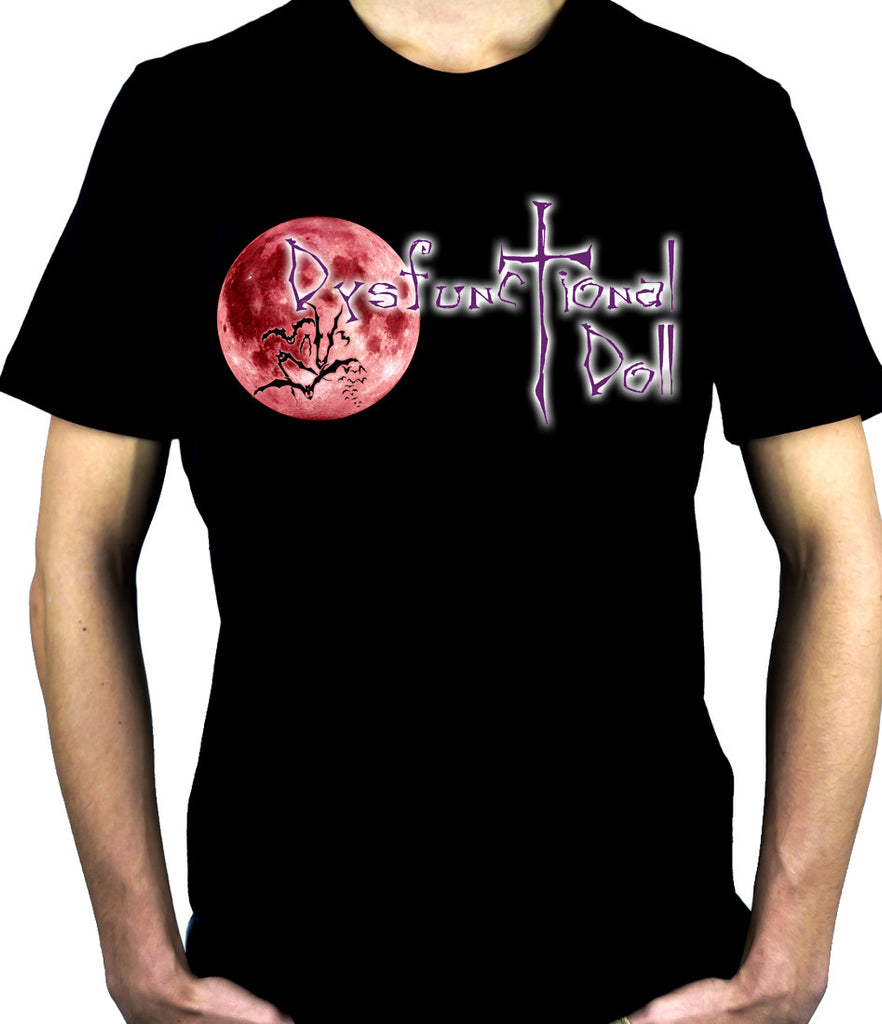 Dysfunctional Doll Original Logo T-Shirt Gothic Halloween Clothing