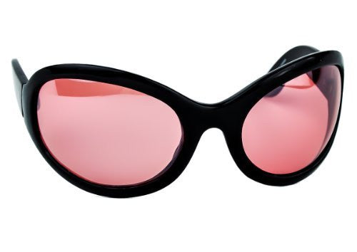 Red Lens Gothic Vampire Sunglasses Oversized Sexy Glasses