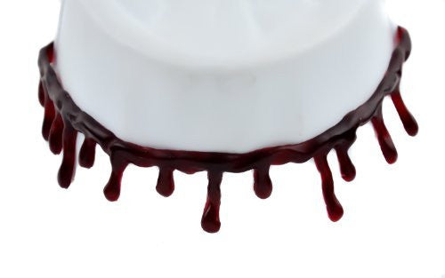 Thin Blood Drip Gothic Choker Necklace