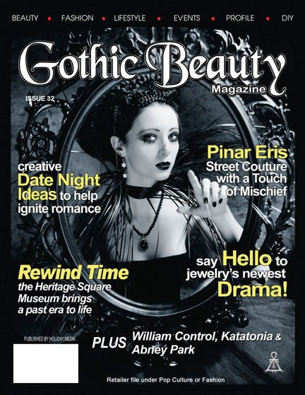 Gothic Beauty Magazine Issue 32 Music interviews with William Control, Katatonia and Abney Park