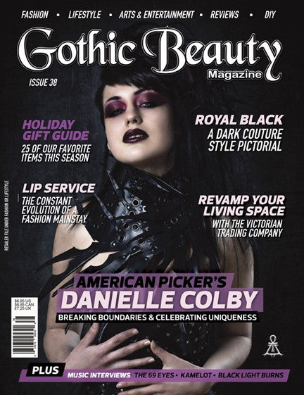 Gothic Beauty Magazine Issue 38 Music Interviews With The