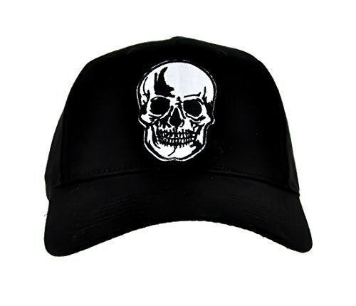 Halloween Skull Hat Gothic Horror Baseball Cap