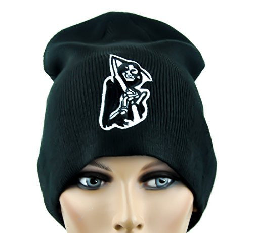Grim Reaper Patch Beanie Sons of Anarchy Cap