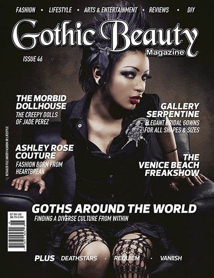 Gothic Beauty Magazine Issue 46 Music interviews with Deathstars, Requiem and Vaniish