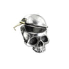 Alchemy Gothic Mortalitas Skull Pill Box